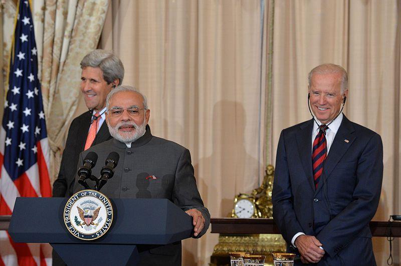 Modi And Joe Biden