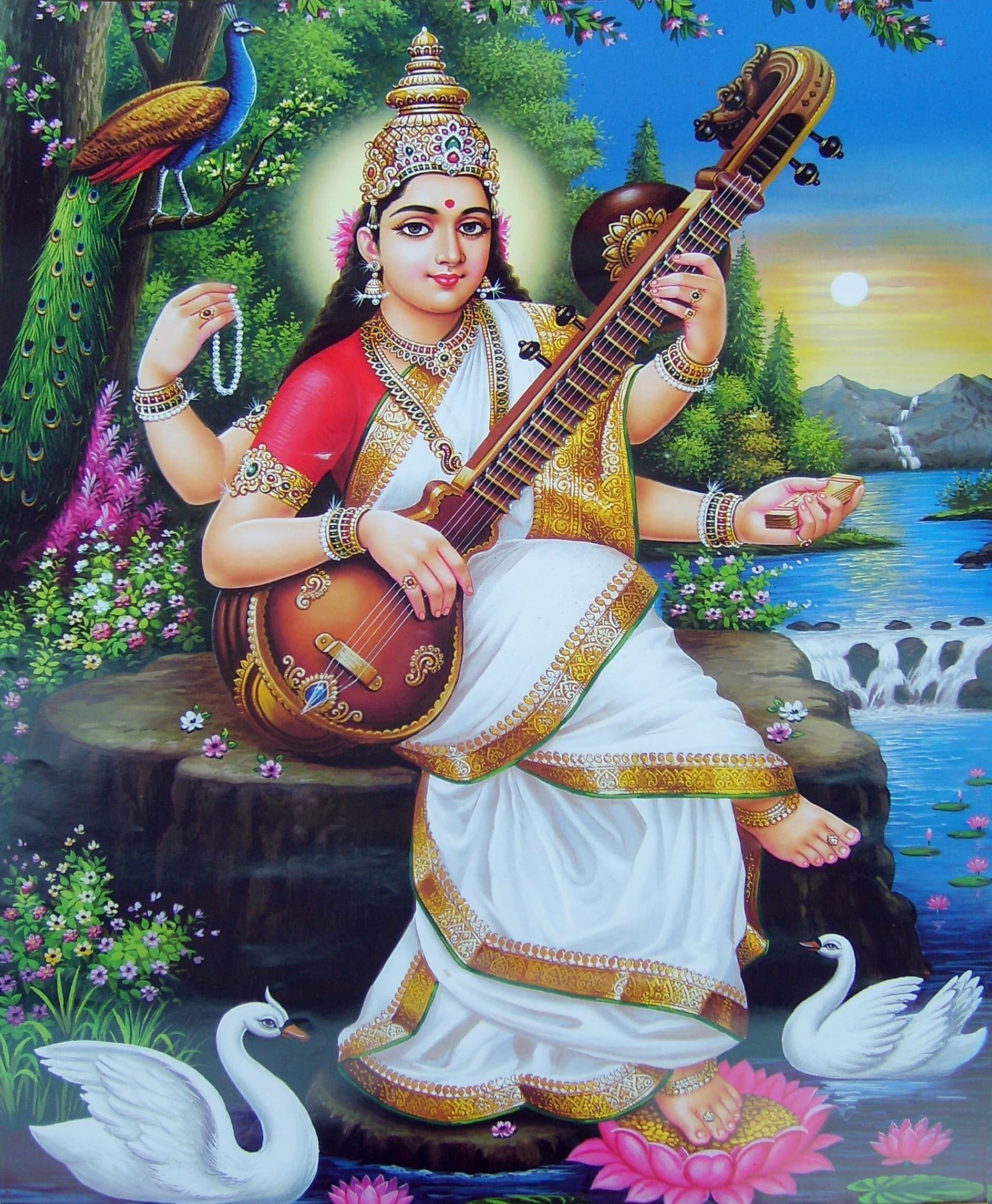 सरस्वती पूजा Saraswati Puja