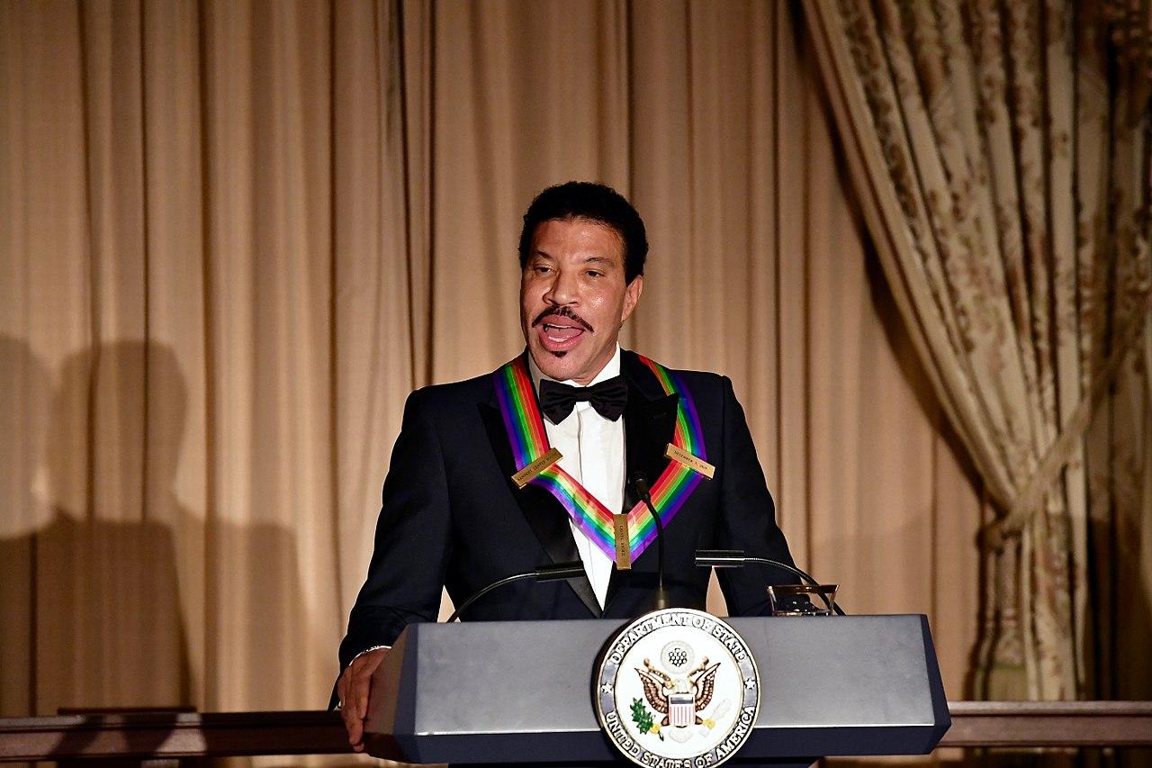 Singer Lionel Richie