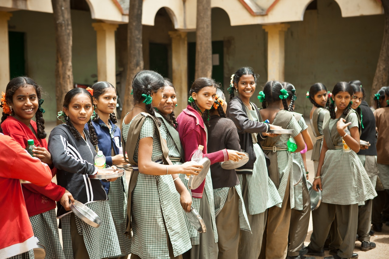 Adivasi girls students
