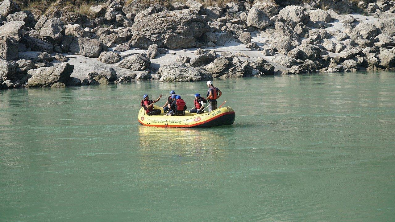 river rafting in rishikesh tourism