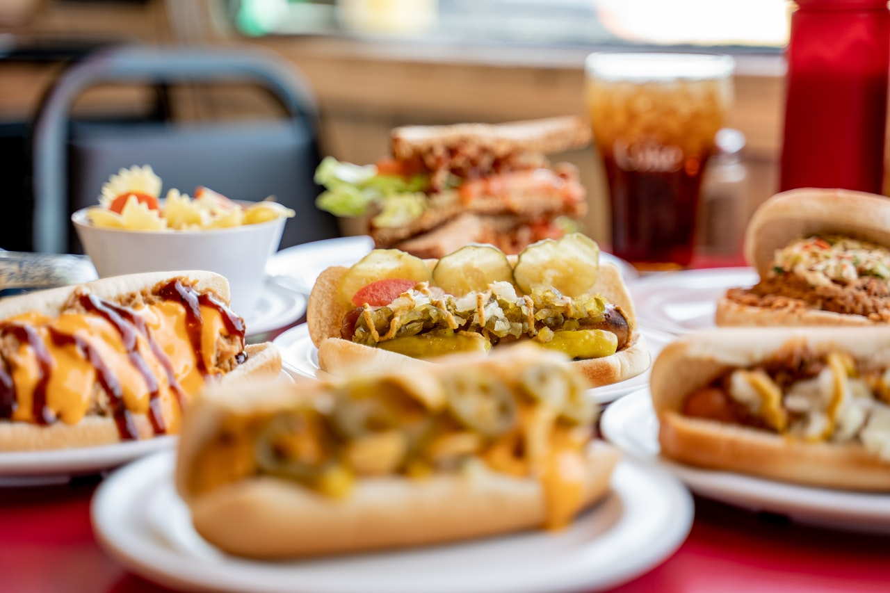 hotdog seller