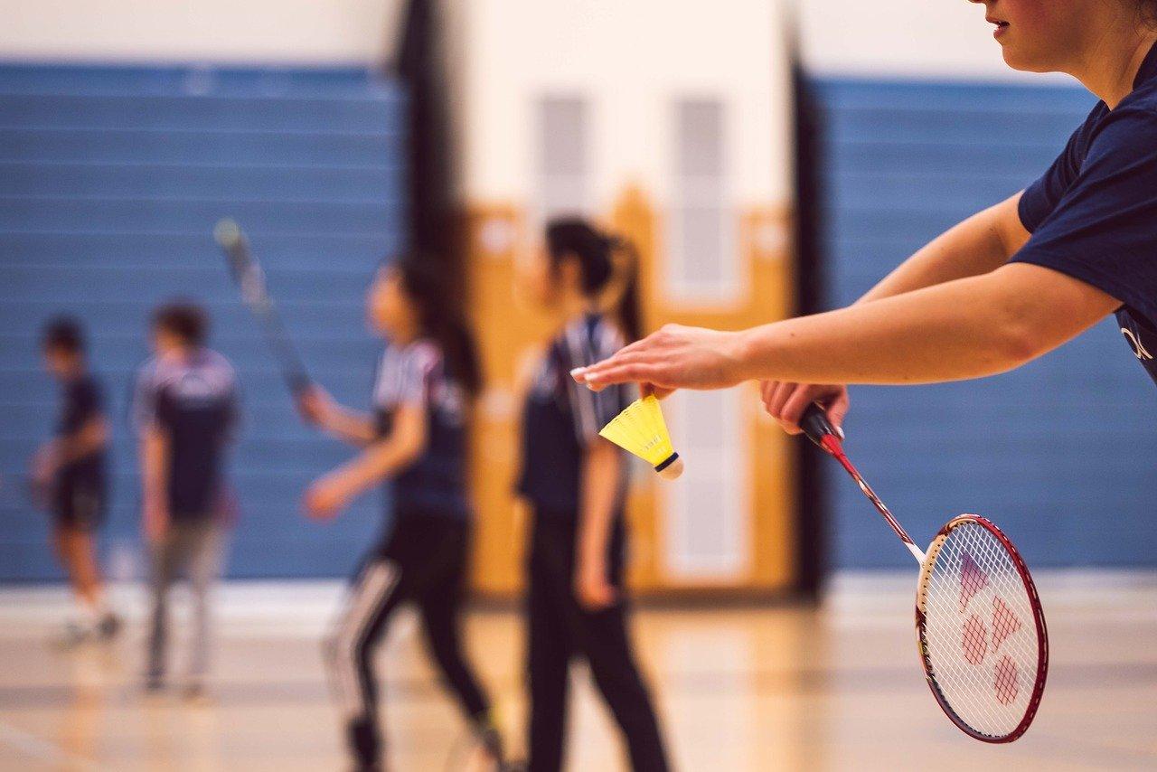 para badminton position of india in dubai