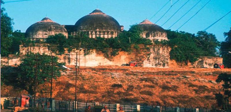 babri masjid dispute राम जन्मभूमि-बाबरी मस्जिद