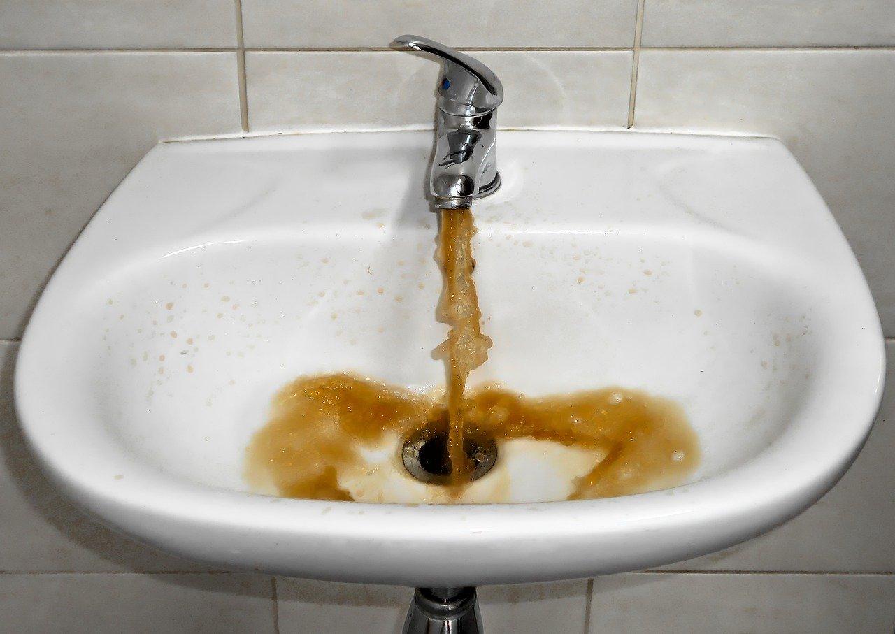 contaminated water