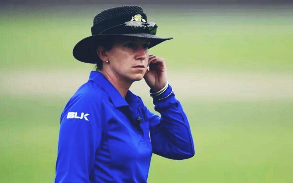 Claire Polosak : मिलिए पुरुष टेस्ट मैच की पहली महिला अंपायर से