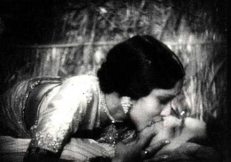 on screen kiss