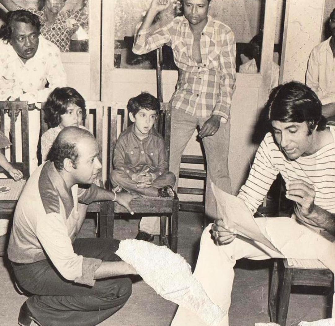 अमिताभ ने मिस्टर नटवरलाल के सेट से साझा की पुरानी तस्वीर